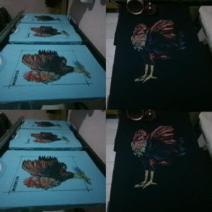 sablon kaos dot art apparel