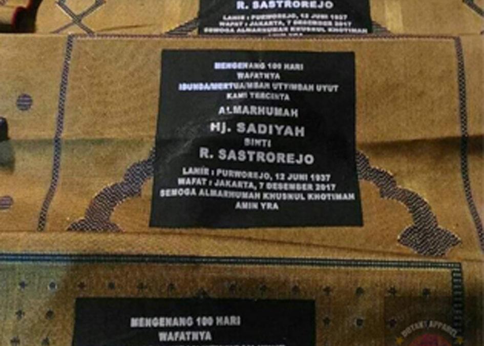 Sablon Sajadah Di Daerah Bekasi || Dot Art Apparel Screen Printing